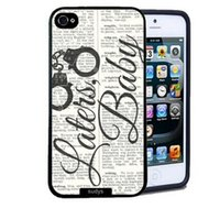 apple newspaper - Fashion Handcuffs Newspaper Design Hard Plastic Mobile Phone Case Cover For iPhone S S C