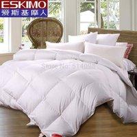 Wholesale ESKIMO white Hight quality goods goose down quilt Duvet comforter