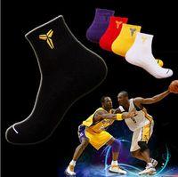 Men elite socks - Men s Socks Kb Thick Warm Towel Bracers Genuine Classic Basketball Casual Dress Sport Socks Cotton Elite Deodorant Socks
