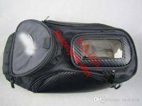 Wholesale Black Motorcycle Tank knapsack Bag Magnetism draw TANK