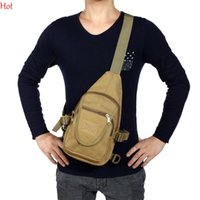 Wholesale Waterproof One Shoulder Bags Multifuction Military Tactical Backpack Hiking Camping Traveling Outdoor Chest Bag Sports Message Bag SV028956