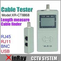 Wholesale Cable Tester LAN USB RJ45 RJ11 RJ12 Network Ethernet CAT5 UTP Multi Modular LCD display XR CT8868