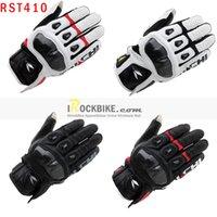 al por mayor rs guantes de taichi-Al por mayor-2015 de la nueva llegada de la venta caliente RS-Taichi RST-410 del cuero de la motocicleta Guantes / Motocrosss Armado Racing Guantes M-XL