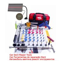 Revisiones Super glue-Súper PDR Dent Lifter Kit de pegamento Extractor de Paintless Dent Repair 68pcs Removal Tool Bolsa Hail