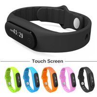 Wholesale 100 original Smart Wristband Xiaomi Mi Band E06 Touch Screen Mi band Bracelet For Android IOS Waterproof fitbit