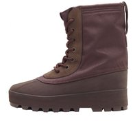 Lace-Up Unisex Winter Yeezy 950 Boot 'Chocolate Brown AQ4830 36-44 Women's shoes Men's shoes