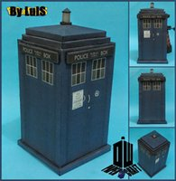 Wholesale Doctor Who time machine TARDIS Paper Craft model building kits learning education diy hobbies toy gifts home decor