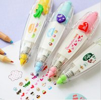 kawaii stickers - 2015 Free Shiping korean cute correction tape kawaii stationery for student school supplies DIY Scrapbooking Stickers