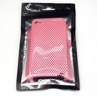 Wholesale 20 cm Mobile Phone Case Cover Retail Packaging Package Bag for iPhone S S Plus Plastic Ziplock Poly Packs