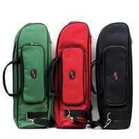 Wholesale 600D Water resistant Trumpet Gig Bag Oxford Cloth Adjustable Single Shoulder Strap Pocket mm Cotton Padded I593