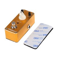 Wholesale Aroma ADL Mini Delay Electric Guitar Effect Pedal with Fastener Tape Aluminum Alloy Housing True Bypass