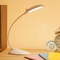 Wholesale Dolphin LED Table Lamps Desk Lamp Reading Lamp Novel USB Night Light Rechargeable desk lamp