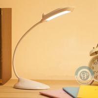 Wholesale Hot Dolphin LED Table Lamps Desk Lamp Reading Lamp Novel USB Night Light Rechargeable desk lamp