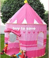 Wholesale fast shipping Ultralarge paragraph of child princess tent toy game house infant child tent