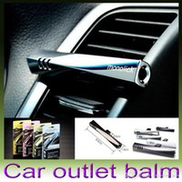 Wholesale 1pcs sticks boxes Magic Wand Car Perfume Balm Car Air Freshener Fragrance Retailing Box Available