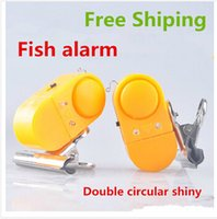 alarm symbian - Fishing Fishing Tackle Boxes Double Led Light Fishing Alarm Bell light symbian led console light