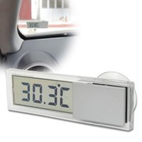 Wholesale LCD Digital Screen Display Home Auto Car Indoor Wall Temperature Thermometer small thermometer