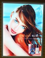backlit led sign - LED light box single side clik frame signs backlit A4 signage advertising display