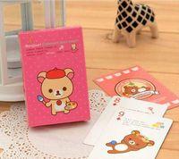 Wholesale rilakkuma poker cute cartoon bear playing cards pokers super funny girls game