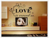 Decal abstract love quotes - Removable Vinyl Lettering Quote Wall Decals Home Decor Sticker Mordern art Mural for Bedroom Living Room love Decoration Wallpaper Poster