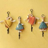 bathroom door key - Fashion Fresh Family Robe Hooks Hats Bag Key Adhesive Wall Hanger Bathroom Kitchen Door Hook Hanger Supplies