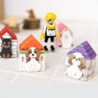 Wholesale Lovely Funny Puppy Post it Memo Notepad Paster Guestbook Sticky Notes Office