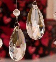 Wholesale 50pcs mm crystal prism parts amp glass chandelier part suncatcher