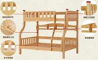 Wholesale 2016 a solid wood children bed corner design Anti slip ladder Quality hardware