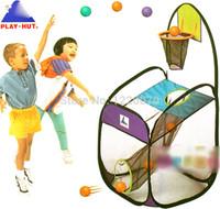 basketball entertainment - Children Tent Play House Toy basketball game entertainment Playhut USA toys