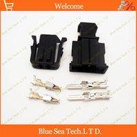 Wholesale 10 sets Pin mm Auto ABS sensor plug Car door lamp plug connector for VW Golf car ect