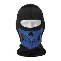 Wholesale Ski Reflective Skull Balaclava Hood Full Warm Neck Face Cycling Windproof Protector Mask