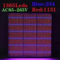 Wholesale Newest W Red Blue High Power LED Grow Light for Flowering Plant Greenhouse Hydroponics System led grow panel light AC85 V