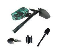 Wholesale Mini Multi function Folding Shovel Survival Trowel Dibble Pick Camping Outdoor Tool