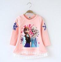 Cheap Frozen Children T Shirt Best Baby Girl clothes