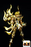 ae products - In Stock AE Saint Seiya EX God Leo Aiolia Metal Armor Myth Cloth Gold Ex Action Figure Toy Model Christmas Gift