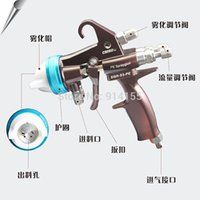 Wholesale Fine Atomizing Spray Gun for Two Component Polyurethane Foaming Dual Nozzle Good Atomizing SGH S2 PE