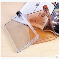 big paper cups - Big discount Memo bottle Clear A5 Memo Book Paper Bottle Flat Portable Water Bottle Cup Kettle DHL