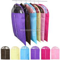 bag protectors - 6x Fashion New Clothes Coat Dress Garment Dress Suit Dustproof Storage Cover Protector Clothes Bags Color Size S M L