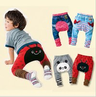 Wholesale Children s Animal Warm PP Pants Baby Boys Girls Trousers Spring And Autumn Baby Clothing Kid Wear Kids Legging Newborn Cloth
