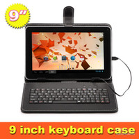 Wholesale Ship from USA Inch Android Tablet PC Allwinner Quad Core Dual Camera Capacitive MB GB quot Tablets Bundle quot Keyboard