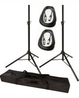 Wholesale Tripod Speaker Stands with ft Cable and FREE Carrying Bag