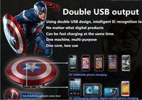 america power supply - 1PCS In the new captain America mobile power supply The avengers alliance phone general charging treasure mAh
