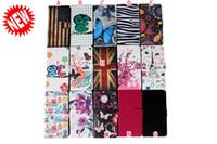 bag wholesale uk - For LG K10 M2 K7 M1 Xiaomi M5 Wallet Leather Case Flower Owl UK USA Flag ID Card Money Stand Pouch Zebra Butterfly Leechee Bag Skin Luxury