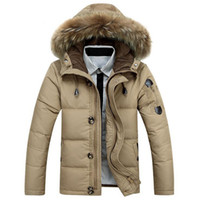 afs fashion - 2016 SALE Plus Size AFS shield winter Parkas down jacket Stand collar coat men s US style windproof snowproof Outerwear Coats