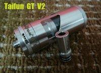 Cheap Taifun GT 2 RBA Atomizer Taifun GT V2 RBA Rebuildable atomizer taifun gt II for E cigarette Mods VS Kayfun V4 Mutation X Doge RDA N22