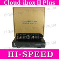 Receivers DVB-S  10pcs Original Cloud ibox 2 Plus mini vu solo satellite receiver enigma 2 Linux system support Youtube IPTV cloud ibox II plus free shipping