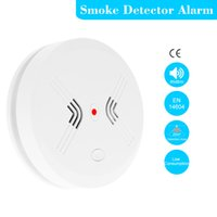 Cheap Hot Sale Cordless Standalone Photoelectric Wireless Smoke Detector Fire Alarm Sensitive Home House Office Security System S493
