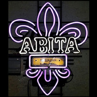 Wholesale 22X18 quot ABITA NEON SIGN NEON LIGHTS Falls City Beer Neon Light Sign VERY RARE Neon Light Sign led light