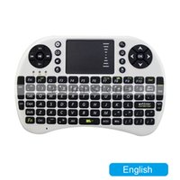 Wholesale Hot Selling Mini i8 Keyboard Russian English Air Fly Mouse Multi Media Remote Control Touchpad Handheld for Smart TV Box