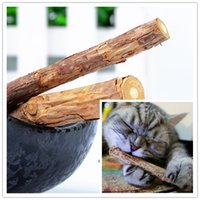 Wholesale Cat cleaning teeth Pure natural catnip pet cat molar Toothpaste stick bag fruit Matatabi cat snacks sticks